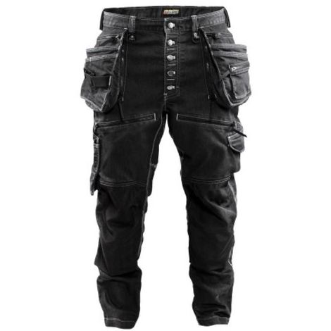 Pantalon X1900 CORDURA® DENIM stretch noir taille 44