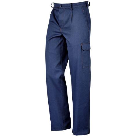Pantalone da lavoro 100% in cotone sanforizzato, 270 gr/m2. Tg 44/64 - UB-435225