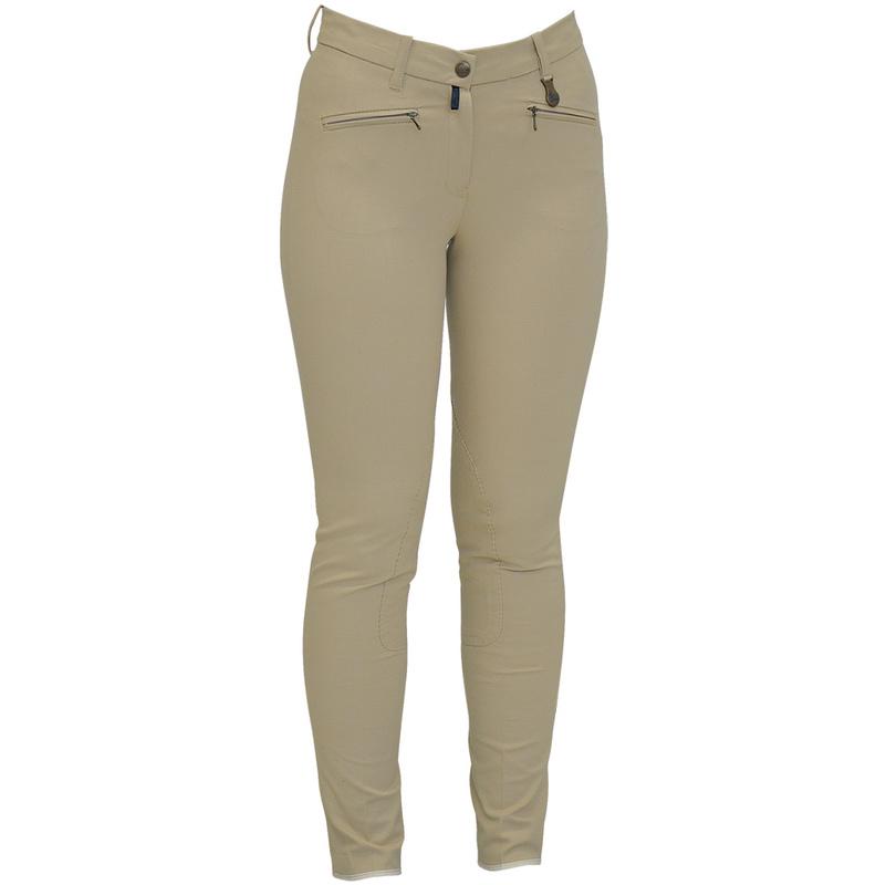 design senza tempo 09436 6a907 Pantalone equitazione ragazza Equi Comfort anatomico con tasche Equi Comfort