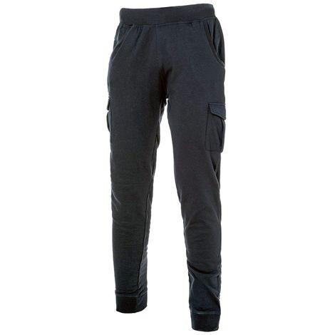 piuttosto economico prezzo basso molti stili Pantalone lavoro Logica cotone felpato tuta uomo multitasche ...