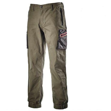 Pantalone Stretch Cuff Plus DIADORA UTILITY Verde Foresta Notte 170020 70167