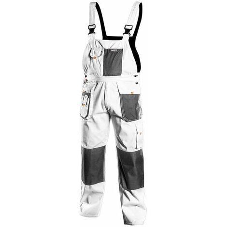 Pantalones de trabajo con tirantes Neo 81-140-XL