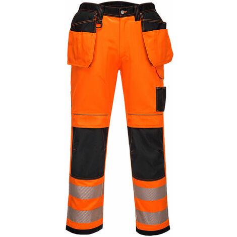 Pantaloni ad alta visibilità vision hi-vis arancioni