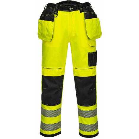 Pantaloni ad alta visibilità vision hi-vis gialli