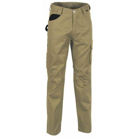 Pantaloni Cofra Drill multitasche tipo cargo V061-0
