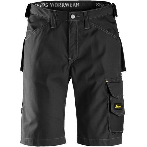 Pantaloni corti da lavoro RIP-STOP -Super leggeri - Taglia: 46, Colore: Grigio