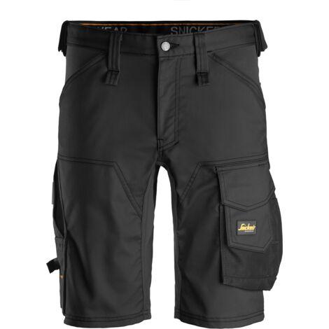 Pantaloni corti stretch – Allround work - Colore: Acciaio, Taglia: 44