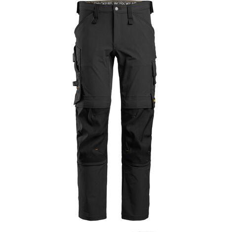 Pantaloni da lavoro AllroundWork – Full Stretch 6371 - Taglia: 54, Colore: Nero