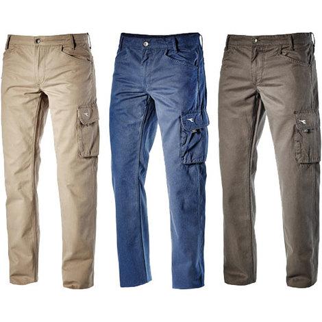 Pantaloni da lavoro Diadora Utility TRADE Blu s beb12666f46