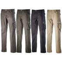 Diadora utility nero cotone leggero pantalone mod rock winter al ... 940b597232a