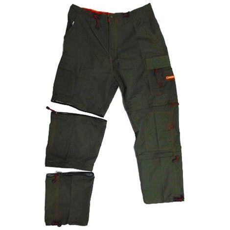 Pantaloni da lavoro multitasche X-TREM Samoa gamba staccabile (XXL)