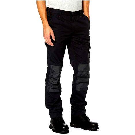 Pantaloni da lavoro u power alfa black carbon