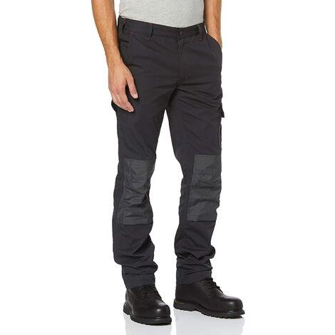 Pantaloni da lavoro u power alfa grigio