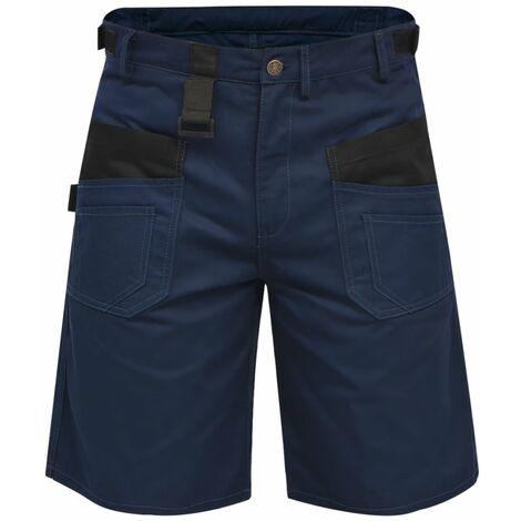 Pantalons courts de travail pour hommes Taille XXL Bleu