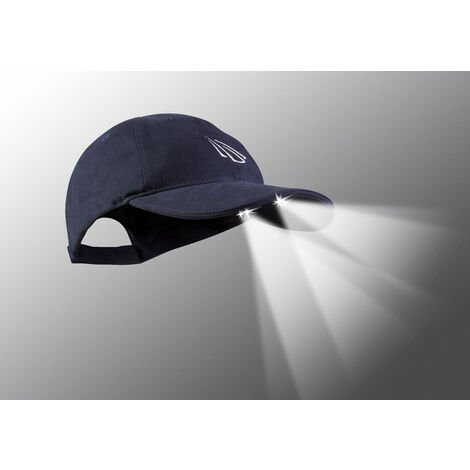 Panther Vision - 4 LED POWERCAP Gorra con luz led color azul