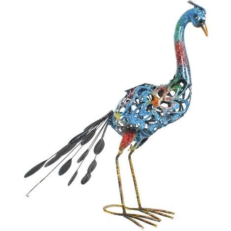 """main image of """"Paon Clyde à décoration métallique avec LED - alimentation solaire Westfalia"""""""