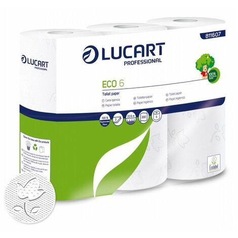 Pap Toilette Blanc 6 Rlx - LUCART