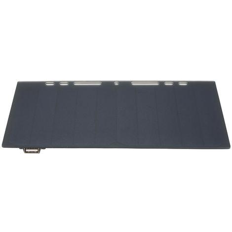 Papel 10W de alta potencia en forma de panel solar mini portetil de silicio monocristalino Puerto del cargador USB para el telefono celular acampar a caballo Escalada Viajes de actividades al aire