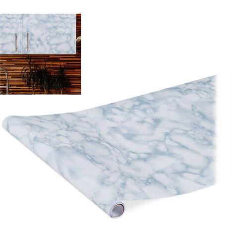 Papel adhesivo para muebles, Bricolaje, Obras, Vinilo autoadhesivo, PVC, 45x200 cm, 1 Ud.