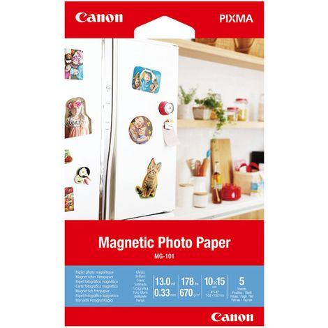 Papel canon foto magnetico mg - 101 3634c002