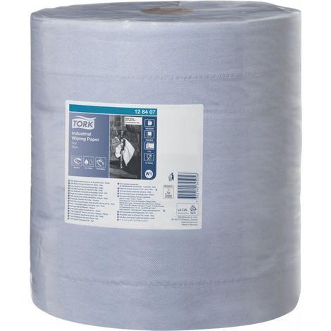 Papel de limpieza Industrial Wiping Papel (128407) azul