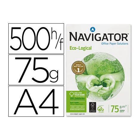 Papel fotocopiadora Navigator Eco-Logical Din A4 75 gr Blanco