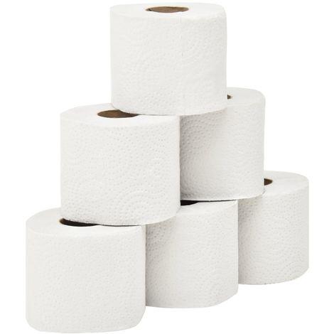 Papel higienico de 2 capas con textura 128 rollos 250 hojas