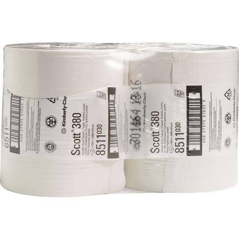 Papel higiénico SCOTT blanco (por 6)