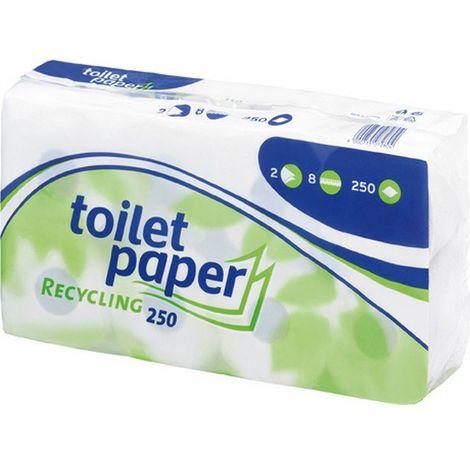 Papel higiénico WEPA Smart, Modelo : 3 Espesor :s, Contenido del paquete 72 rodillos, cantidad por paleta 1920 rodillos