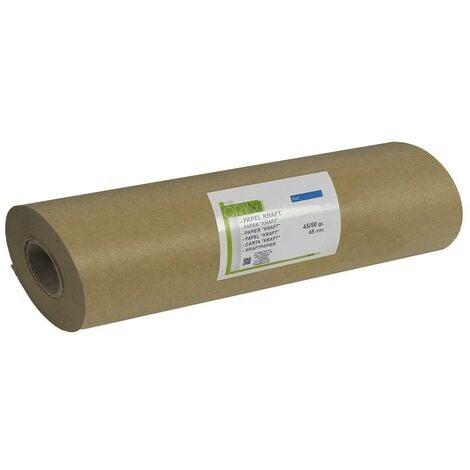 Papel kraft 45 / 50 gramos rollo 30 cm. x 45 metros