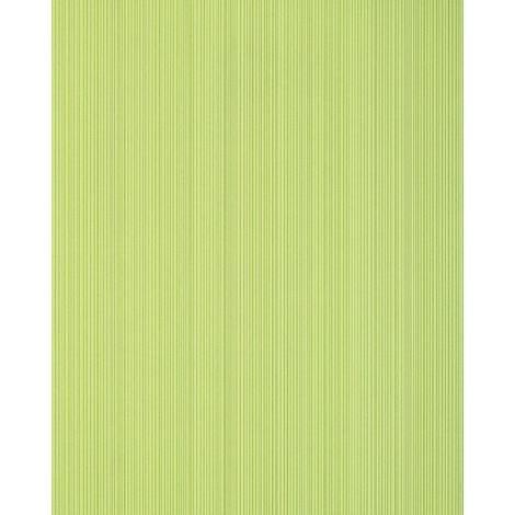 Papel pintado con rayas EDEM 557-11 papel pintado vinílico espumado texturado de aspecto textil mate verde verde-amarillento verde blanquecino 5,33 m2