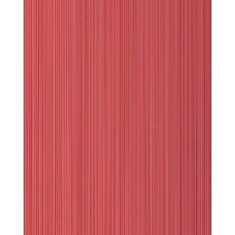 Papel pintado con rayas EDEM 557-14 papel pintado vinílico espumado texturado de aspecto textil mate rojo rojo-rubí rojo frambuesa rojo carmin 5,33 m2