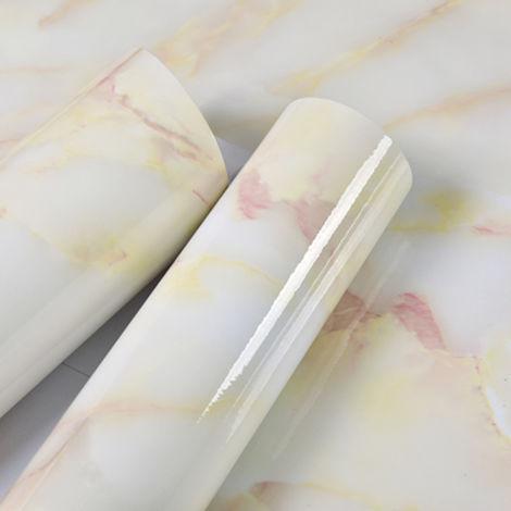 Papel pintado impermeable, patron de marmol, 3 metros de largo, 7 #
