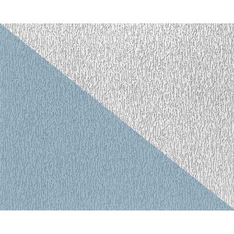 Papel pintado no tejido blanco EDEM 80362BR70 para pintar con textura decorativa de revoque grueso 26,50 m2