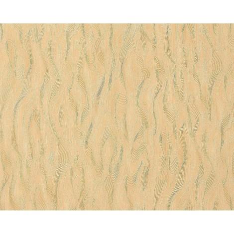 Papel pintado no tejido estuco EDEM 932-22 decorativo veneciano y relieve de lujo en amarillo arena 10,65 m2