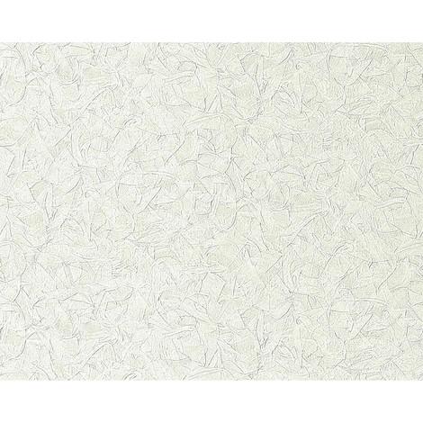 Papel pintado no tejido gofrado EDEM 925-30 en relieve de estuco decorativo veneciano en blanco azulado oro 10,65 m2
