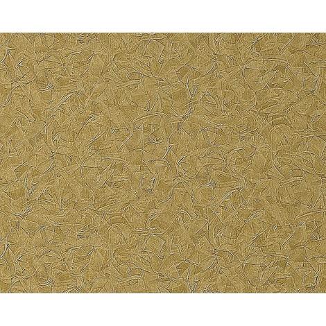 Papel pintado no tejido gofrado EDEM 925-38 en relieve de estuco decorativo veneciano en verde oliva noble 10,65 m2