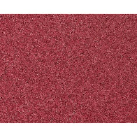 Papel pintado no tejido gofrado EDEM 925-39 en relieve de estuco decorativo veneciano en rojo frambuesa noble 10,65 m2