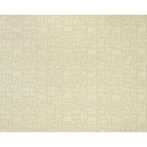 Papel pintado no tejido imitación piedra con textura de lujo y efecto EDEM 922-23 muro relieve verde pálido 10,65 m2