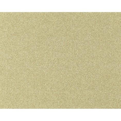 Papel pintado no tejido XXL EDEM 998-33 con relieve aspecto granulado granitos amarillo arena blanco 10,65 m2