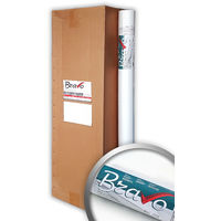 Papel pintado Revestimiento mural tejido no tejido liso EDEM 399-060-16 blanco pintable para renovar |16 rollos 424 m2