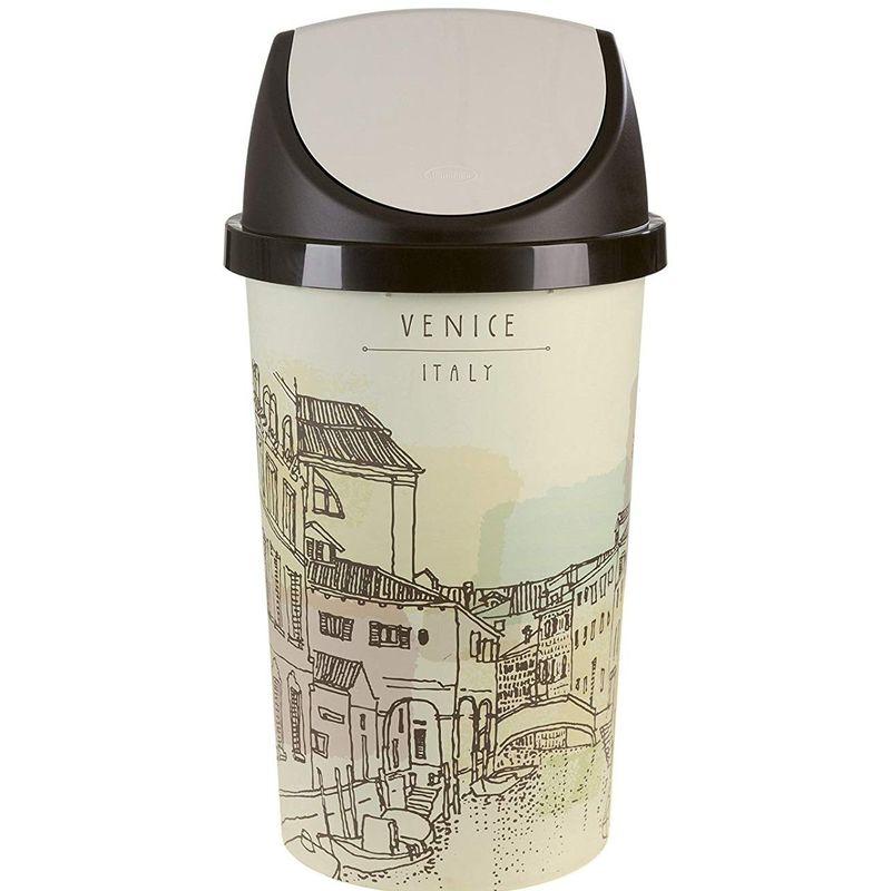 Papelera Basculante Vintage 45 L Venice - PRODUCTOS EXCEPCIONALES