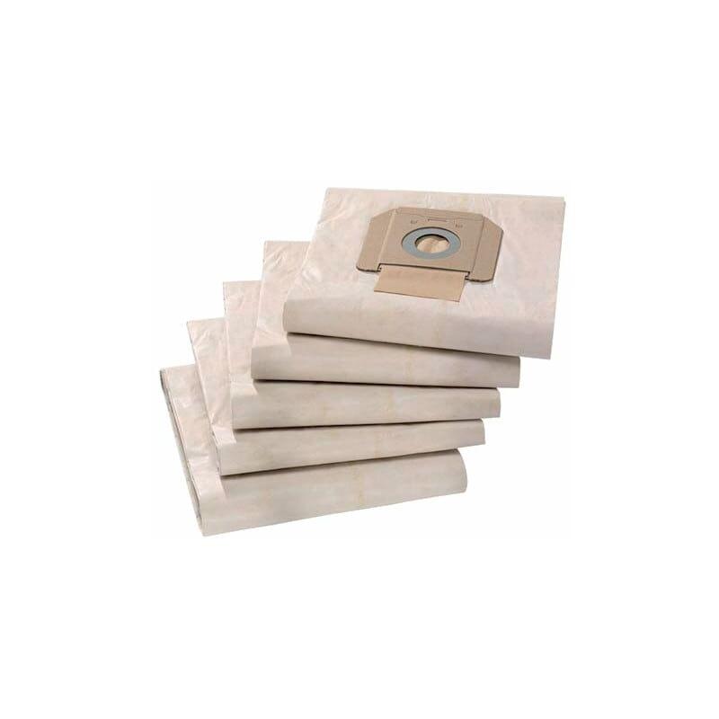 Image of 6.904-285 Paper Filter Bags Class-M (Pk-5) - Karcher