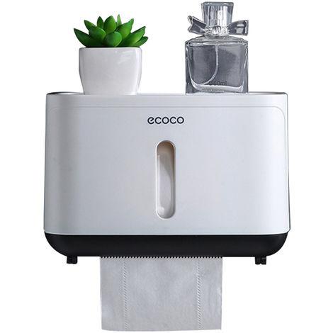 Paper Towel Dispenser Paper Towel Holder Bathroom Toilet Tissue Dispenser Black