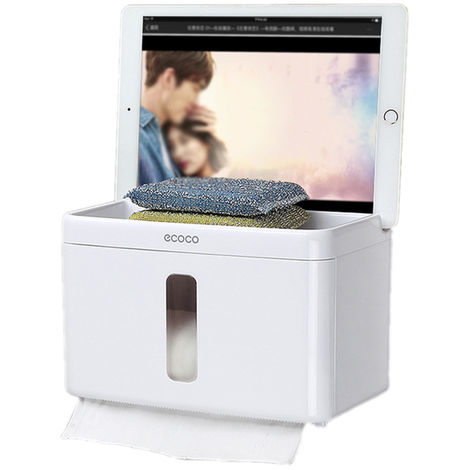 Paper Towel Dispenser Paper Towel Holder Dispenser Bathroom Paper Dispenser White