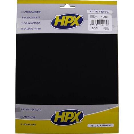Papier abrasif carrosserie, eau P1000 - HPX