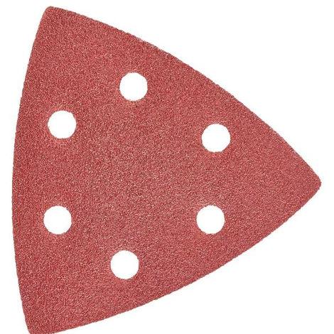 Papier abrasif grain 120 MILWAUKEE - Pack 8 pièces - 48902120