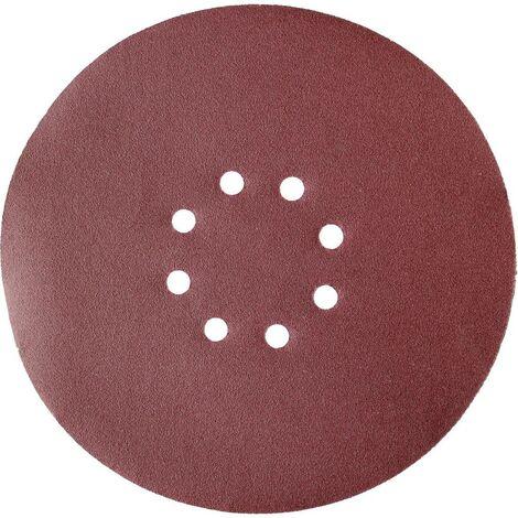 Papier abrasif pour ponceuse pour cloison sèche Einhell 4259921 Grain 120 (Ø) 225 mm 10 pc(s)