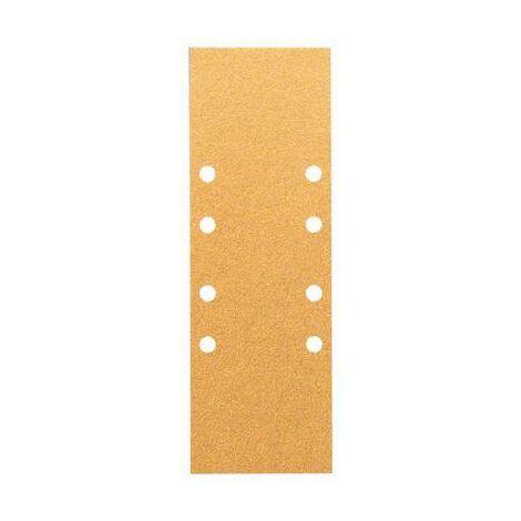 Papier abrasif pour ponceuse vibrante Bosch Accessories 2608608X99 2608608X99 Grain 60, 80, 120 (Ø x L) 93 mm x 230 mm