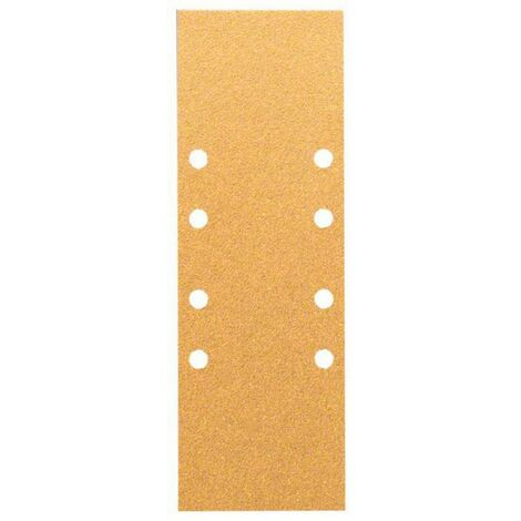 Papier abrasif pour ponceuse vibrante Bosch Accessories 2608608X99 2608608X99 Grain num 60, 80, 120 (Ø x L) 93 mm x 230